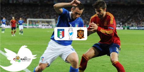 Euro 2012 Final Italy Spain on Twitter