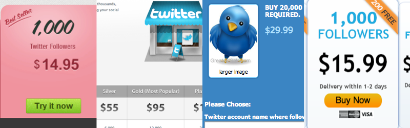 how to buy twitter followers